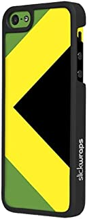 product image for Slickwraps Flag Series the Case for iPhone 5 & 5s - Jamaica - Carrying Case - Retail Packaging - Jamaica