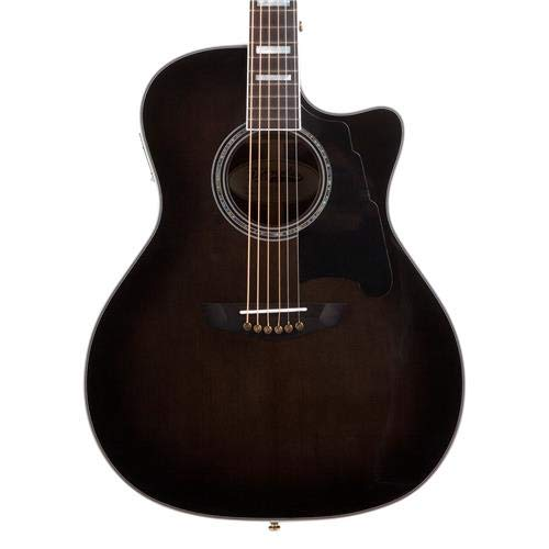 d 39 angelico guitars excel gramercy single cutaway grand auditorium body acoustic electric guitar. Black Bedroom Furniture Sets. Home Design Ideas