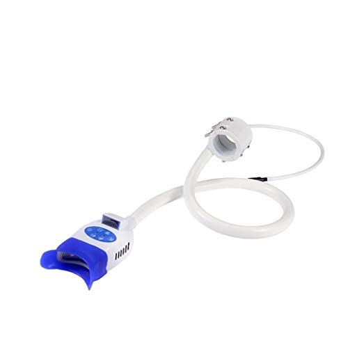 Smile Dental Teeth Whitening Light, Teeth Whitener Cold 8 LED Light Lamp Bleaching Accelerator Arm Holder Holding on…