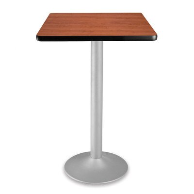 OFM CFT24SQ-CHY_3 Square Folding Cafe Table, 24