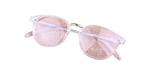 Hot Sale Transparent Eyeglass Frame Clear Glasses Full Rim Retro Spectacles - Sale Rx Glasses