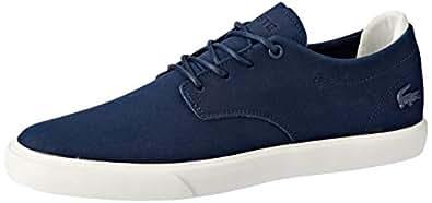 Lacoste Men's ESPARRE 119 3 Fashion Shoes, NVY/Off WHT, 7 US