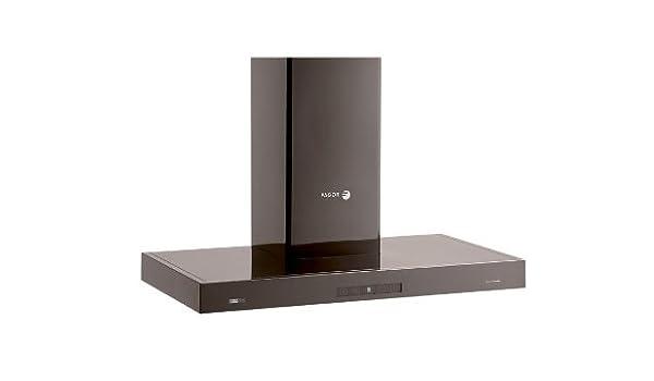 Fagor CH90ART De pared Negro 650m³/h - Campana (650 m³/h, Canalizado/Recirculación, 400 m³/h, 42 dB, 50 dB, 65 dB): Amazon.es: Grandes electrodomésticos