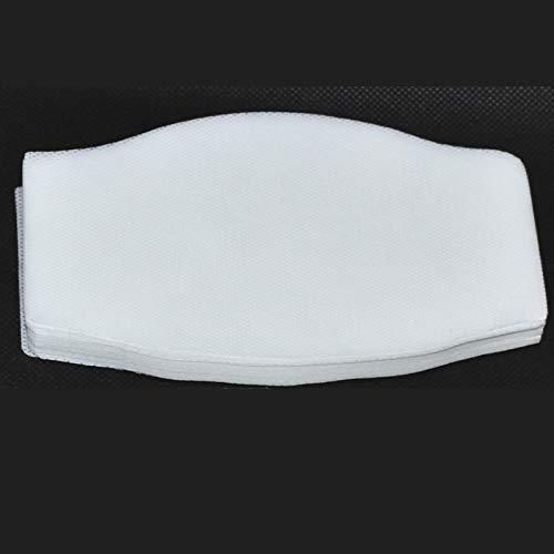 Filtro TNT Grande para mascarilla 16x9.5cm. Muy transpirable, hidrofugo.50 capas de tejido no tejido de 70gr, ENTREGA EN 24H (TNT 70gr) (tnt 70gr)