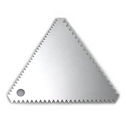 1 X Stainless Steel Cake Decorating Comb by SCI Scandicrafts, Inc.