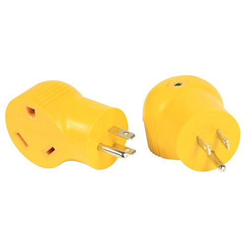 Camco 55325 15 AMP Male / 30 AMP Female 90 Degree Electrical - Trends Pensacola