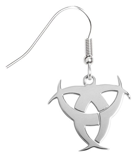 Biohazard Symbol Collectible Jewelry Earrings