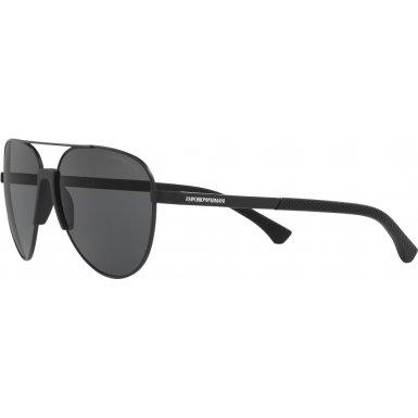 77da2213a085 Emporio Armani sunglasses (EA-2059 320387) Black - Grey lenses - Import It  All