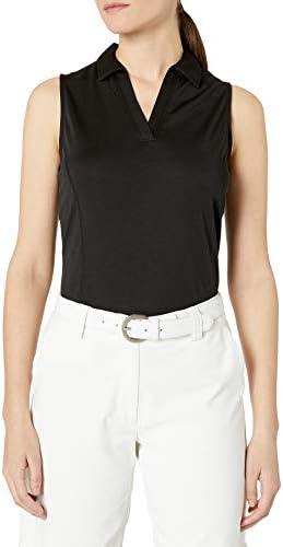 PGA TOUR Women's Airflux Sleeveless Golf Polo Shirt