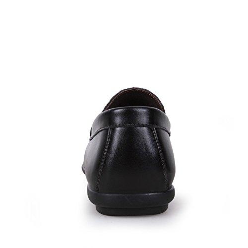 Minitoo LHUS-LH1508, Mocassins Pour Homme - Noir - Noir, 39