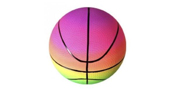 Intertoys - Pelota de baloncesto arco iris 1368908: Amazon.es ...