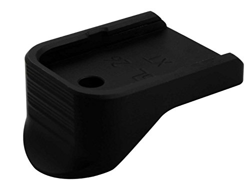 Oath Keeper Military Law Enforcement Floor Base Plate Pinky Grip Extension for Glock 26 27 33 39 Gen 1-4 by NDZ Performance