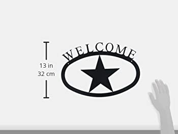 17.5 Inch Deer Welcome Sign Large 2