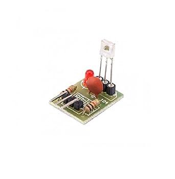 xcluma Laser Beam Sensor Module Tube Laser Receiver Module Non-Modulator