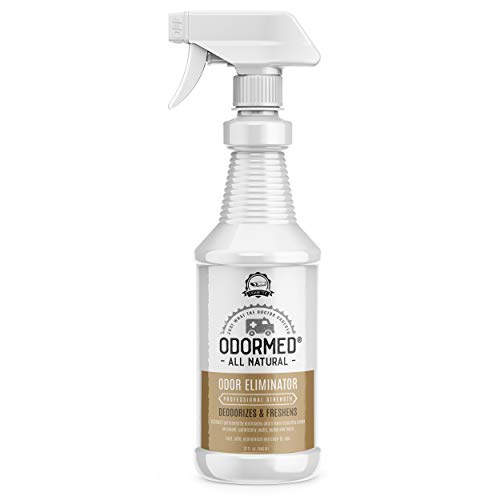 ODORMED Cigarette Smoke Odor Eliminator- Smoke Air Purifier, Not an Enzyme Cleaner, Latest Technology to Remove Cigar Odor from Cars, Home. Not a Mask. Odor Remover Eliminator for Home