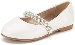 Girls Toddler Little Kid Big Kid Serena-100 Mary Jane Ballerina Flat Shoes