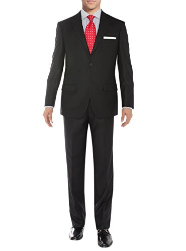 Salvatore Exte Men's Suit Two Button Side Vent Jacket Flat Front Pants(50 Regular US / 60R EU/W 44