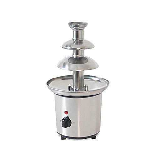 Wotefusi Chocolate Fountains 3-Tier Tower Chocolate Fondue Tower Stainless Steel 110V by Wotefusi (Image #3)