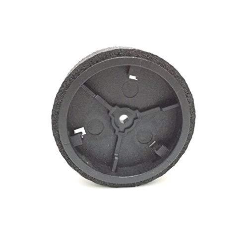 Toogoo 2 Original Caster Wheels + 2 Wheel Tire/Tyre for iRobot braava 380 380t 320 390 381 390T Mint Plus 4200 5200C Replacement Parts
