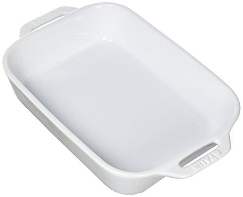 Staub 40508-593 Ceramics Rectangular Baking Dish, 10.5x7.5-inch, White