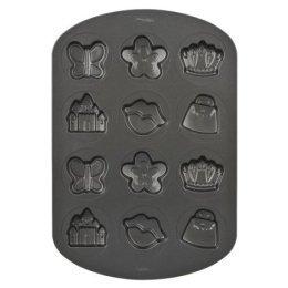 Wilton Ultra Bake 12 Cavity Cookie Pan (Girl)