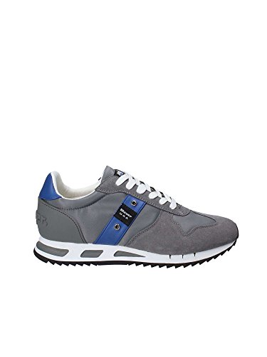 40 Grigio Basse Blauer Uomo 8SMEMPHIS05 Sneakers CYwXqPF