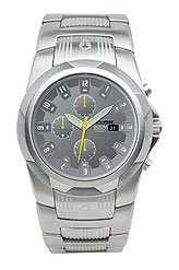 Nixon Super Rover Stainless Steel Watch Gunmetal, One Size