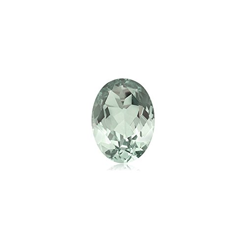 1.55-1.80 Cts of AA 9x7 mm Oval Green Amethyst ( 1 pc ) Loose Gemstone