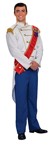 Forum Fairy Tales Fashions Prince Charming Costume - Choose Size (X-Large, Blue) -
