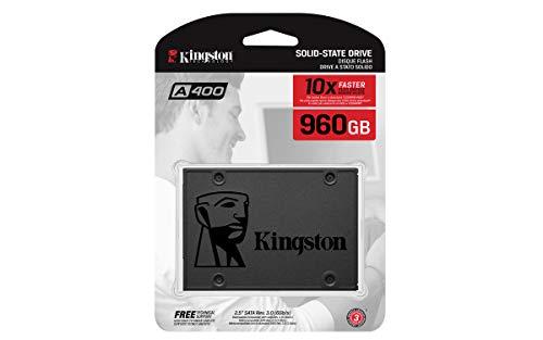 "Kingston A400 SSD 960GB SATA 3 2.5"" Solid State Drive SA400S37/960G - Increase Performance by Kingston (Image #3)"