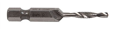 6-32NC 6 Pack GREENLEE DTAP6-32 Combination Drill and Tap Bit