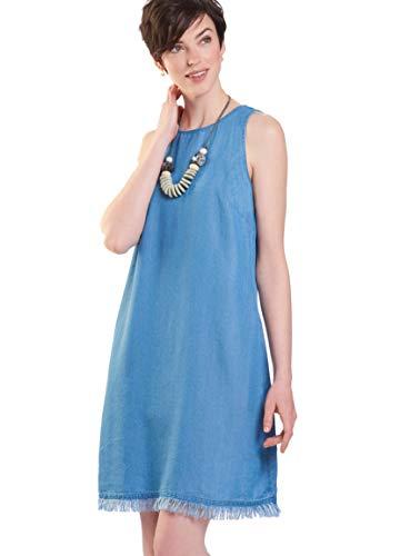 00100a465 Charlie Paige Summer Clara Soft Denim Shift Dress (Medium) from Charlie  Paige. found at Amazon