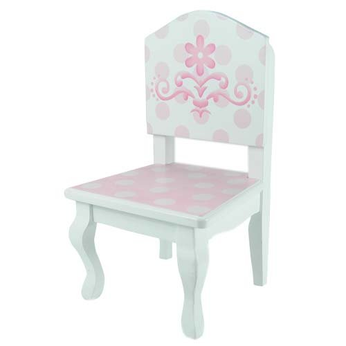 Amazon.com 18 Inch Doll Table u0026 Chairs Set Fits American Girl Doll Bed Rooms and More Pink and White Hand Painted Doll Table and Two Doll Chairs Set ...  sc 1 st  Amazon.com & Amazon.com: 18 Inch Doll Table u0026 Chairs Set Fits American Girl Doll ...