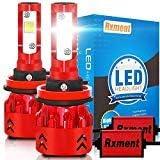 Rxment White H11/H8/H9 (CREE XHP50) H11 LED Headlight Bulb, 2 Pack