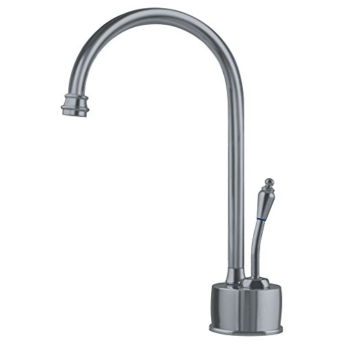 Franke DW6180 Farm House Little Butler Single Handle Under Sink Cold Water Filtration Faucet, Satin Nickel ()