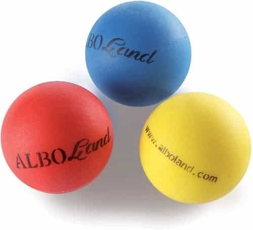 Alboland - Manogin Ball. Pelotas de rehabilitación. Color: rojo ...