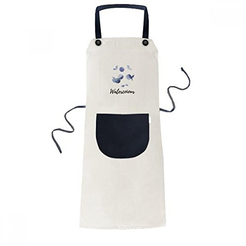 cold master DIY lab Halo Abstract Plants Art Pattern Cooking Kitchen Beige Adjustable Bib Apron Pocket Women Men Chef -