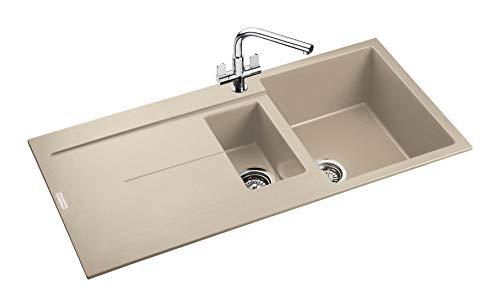 Rangemaster SCO1052SN/ SCORIA IGNEOUS 1000500 1.5 BOWL STONE Kitchen Sink