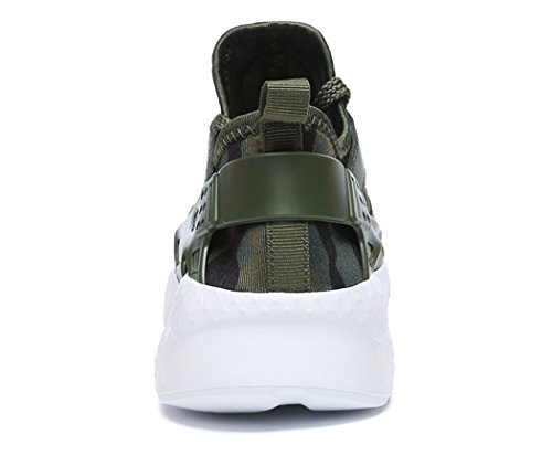 Trekking Ginnastica Casual da Corsa Interior all'Aperto Donna Fitness Sportive Scarpe Uomo Verde MXXM Sneakers C Running qI70w
