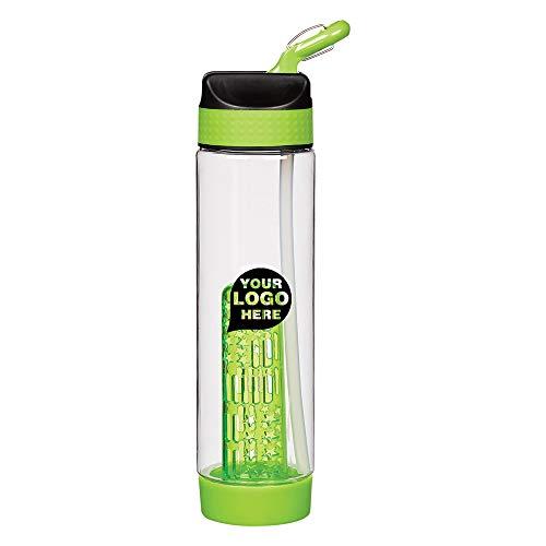 - 25 Oz. Tritan Fresh Fusion Carabiner Bottle - 48 Quantity - $4.69 Each - Promotional Product/Bulk with Your Logo/Customized