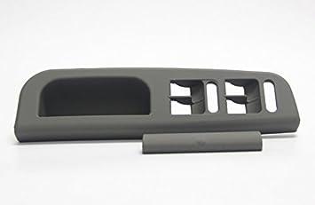 VW Bora Saloon 1999-2005 Wing Mirror Cover Cap Black Textured Passenger Side N//S