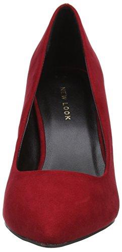 Scarpe Donna Red con Chiusa New a Bright Symbolic 60 Look Punta Tacco Rosso da qztzwaE7x