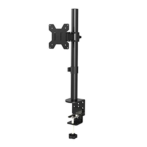 Suptek Single LED LCD Monitor Desk Mount Heavy Duty Adjustab