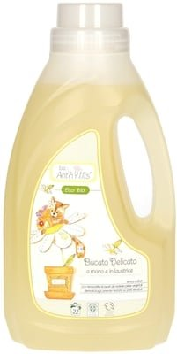 ANTHYLLIS - BABY Mild Detergent - For delicate fabrics and sensitive skin - Tested for nickel, Chromium and Cobalt ICEA Certified and Cruelty Free - 1lt