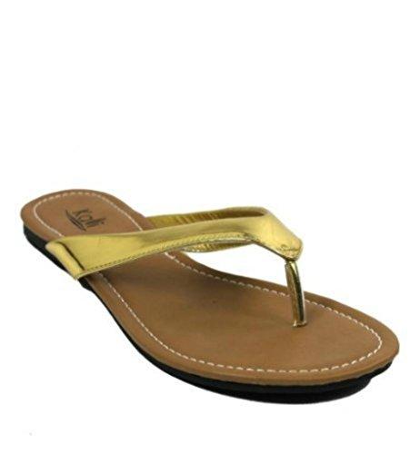 Kali Footwear Girl's Cocoa-Jr. Flip Flop Flat Sandal 11