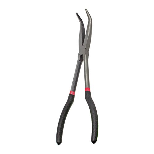 KING 11-Inch Long Reach 45-Degree Bent Long Nose Pliers