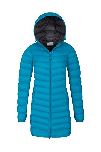Florence Jacket Teal Mountain Long Padded II Warehouse YTWXqxX5B