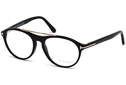Tom Ford - FT 5411, Geometric, acetate, men, SHINY BLACK(001), - Glasses Tom Ford Optical