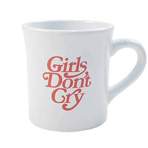 Girls Dont Cry ガールズドントクライ ×Amazon Fashion アマゾン ファッション GDC CAFE MAG マグカップ 白 フリー   B07R1WM13T