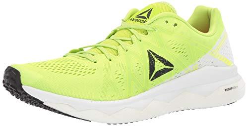 Reebok Men's Floatride Run Fast Shoe, neon Lime/White/Black/red, 11.5 M US